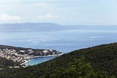 Nice view (czerwiony Smãtk) Tags: bay gulf sea forest sky labin hrvatska