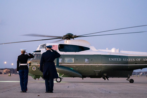 President Trump Departs for Michigan by The White House, on Flickr
