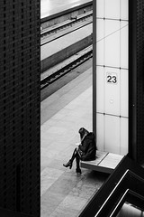 Track 23 (koen_jacobs) Tags: antwerp blackandwhite streetphotography