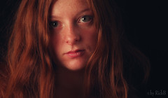 Maren and her freckles (RickB500) Tags: portrait girl rickb rickb500 model beauty expression face cute hair freckles redhead foster bestportraitsaoi
