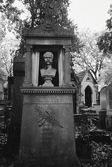 PL4-051-24 (David Swift Photography) Tags: davidswiftphotography parisfrance perelachaisecemetery theodorebarriere sculpture monuments graveyards graves tombstone statues