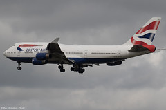 G-BYGE (Baz Aviation Photo's) Tags: gbyge boeing 747436 british airways heathrow runway 27l baw ba egll lhr