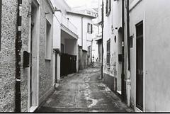 Rimini (goodfella2459) Tags: nikonf4 afnikkor50mmf14dlens cinestillbwxx 35mm blackandwhite film analog streets road buildings rimini italy bwfp