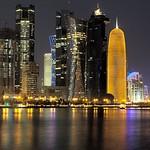 Doha-Corniche-NightView