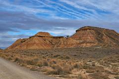 samarbora_0066 (pitadecala) Tags: desierto aridez cielo nubes estepa navarra españa desert dryness sky clouds steppe spain