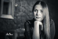 Elena (Alex Chaves Fotografia) Tags: photography people portrait personas portraiture blancoynegro bw retrato retratos retratofotografico