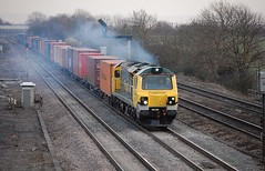 70018 Didcot East Junction (chriswarman) Tags: 70018 clag class70 didcot freightliner freight train
