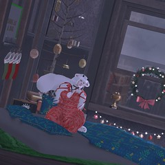 'Cause no matter how far away you roam If you wanna to be happy in a million ways, For the holidays you can't beat home sweet home!HITLEDBLOGPOST (lucidcola resident) Tags: acd hilted halfdeer bellezafreya asteroidbox blog screenshot blogger sl secondlife blogging duckie rl firestorm genus reign vanillabae genusbabyhead