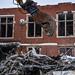 Sorting demolition debris
