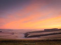 Falmer Sunrise (amipal) Tags: 175mm country countryside england falmer gb greatbritain landscape manualfocus manuallens morning southcoast sunrise sussex uk unitedkingdom voigtlander winter
