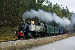 CP E214 (Nelso M. Silva) Tags: steam train comboio vapor henschel sohn dampflok historico linha do vouga turismo portugal via estereita metrica e200 mallet