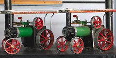 Flickr Friday - duplicates.  IMG_0861 (alisonhalliday) Tags: steamtractionengines modelengines green mamodsteamtractor macro closeup canoneosrp canonefs18135mm duplicate flickrfriday colorfulworld cmwdgreen cmwd
