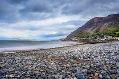 North Wales (Peeblespair) Tags: northwales walescoast rockyshore coastalvillage blue peeblespairphotography peeblespair raelawson