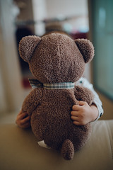 Little girl hugs teddy bear (shixart1985) Tags: home house livingroom indoors cute beautiful toy funny happy child family room leisure sofa lifestyle sit happiness animal apparel bear clothing face hug love lovey loving play special squeeze teddy adorable apartment barefoot bed bedroom cheerful childhood comfort copy space cozy domestic embrace excited flat glad interior joy kid little lovely nursery pleasure plush relax rest soft weekend