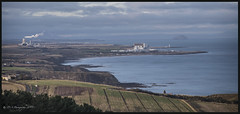 Landscape DSC_4424 (dark-dave) Tags: landscape scotland dunbar torness powerstation tarmac riverforth estuary