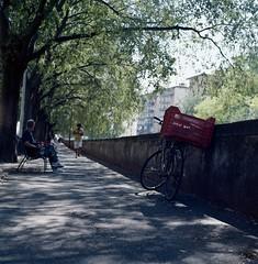 Lungo il Mugnone (michele.palombi) Tags: rolleicord summer tuscany torrente mugnone 120mm film analogicshot florence