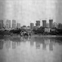 a new city (Vinzent M) Tags: china zniv rollei rolleiflex 35 f zeiss planar 中国 foma fomapan 200 chongqing 重庆