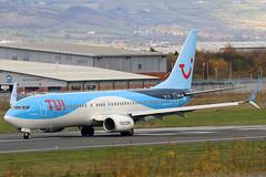 OO-JAU_04 (GH@BHD) Tags: oojau boeing 7378k5 tuiairlinesbelgium belfastcityairport bhd egac aircraft aviation airliner b737 b738 737 738 737800 tui