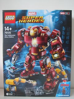 LEGO The Hulkbuster: Ultron Edition 76105