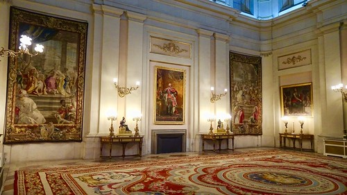 Hanging Tapestries and Oil Paintings, Palacio Real de Madrid (Royal Palace), Madrid, Spain
