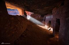 Light of the Ancients (Matt Straite Photography) Tags: ruin pueblo anasazi indian ancient utah dwelling light beam