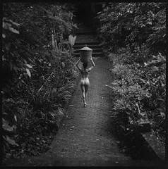 Nude beauty in Bali (Radoslaw Pujan) Tags: bali photoshoot film analog 120mm hasselblad ilfordfilm