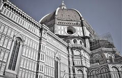 Florence Cathedral (thomasgorman1) Tags: cathedral duomo florence italy monochrome architecture travel nikon cattedrale gothic basilica