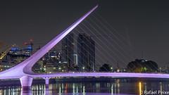 Puente de la Mujer (Argentina) (Rafael Peixe) Tags: argentina portomaderopuerto maderopuente de la mujerbridgesouth americabuenos aires