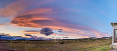 Lenticular Clouds (Polylepis) Tags: panorama argentina patagonia clouds sunset lenticularclouds estanciacerroguido sierrabaguales stitched sonyfe24mmf14gm pano stitch vista chile andes southamerica