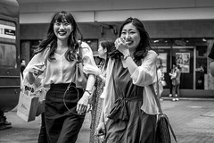 Tokyo 2019 (burnt dirt) Tags: street japan asian photography japanese tokyo asia downtown candid shibuya documentary city people urban blackandwhite bw monochrome person 50mm crossing metro outdoor monotone fujifilm f2 fujinon scramble xt3 life portrait woman girl smile station fashion train real close emotion expression crowd style tourist laugh nippon couple girlfriends happyplanet asiafavorites