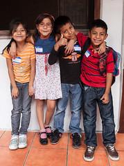school chums Escuela Integrada (Pejasar) Tags: boys girls students friends chums kids children school escuelaintegrada antiqua guatemala