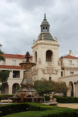 City Hall - Pasadena, California (russ david) Tags: pasadena city hall california ca architecture travel courtyard fountain april 2019
