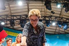 Dilma cumprimentando o público (maxbsb) Tags: circovoador dilmaroussef lulaabraçaacultura pt pessoas riodejaneiro brasil