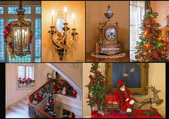 Christmas at Pittock Mansion 2 (lamoustique) Tags: pittockmansion portland oregon christmas trees decor santaclaus