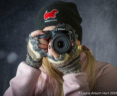 20191219Photographer's Favorite Alpaca Glovess34020-Edit (Laurie2123) Tags: christmas2019 laurieturner laurieturnerphotography laurie2123 nikkor70200mm nikond800e odc odc2019 ourdailychallenge reddogsaloon femaleportrait garagestudio me offcameraflash portrait selfportrati selfie