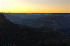 Man watches his history on the screen with apathy.... (itucker, thanks for 5+ million views!) Tags: sunset grandcanyon arizona yavapaipoint