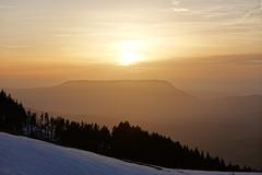 Sunset @ Mont du Chat @ Plateau @ Semnoz @ Annecy