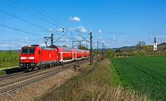 DB 146 232 (maurizio messa) Tags: nikond7100 badenwürttemberg germania germany br146 traxx bombardier re26513 mau bahn ferrovia treni trains railway railroad