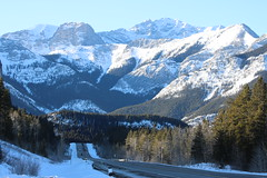 The long and winding road (davebloggs007) Tags: alberta mountain roads winter 2019