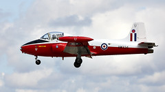Jet Provost (Bernie Condon) Tags: riat airtattoo tattoo ffd fairford raffairford airfield aircraft plane flying aviation display airshow uk jetprovost jp jet trainer raf royalairforce military vintage preserved hunting bac