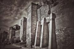 Gibralfaro Castle (mike.gleeson) Tags: castle spain andalusia malaga gibralfaro parador blackwhite alcazaba