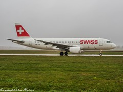 Swiss HB-JLQ OMD (U. Heinze) Tags: aircraft airlines airways airplane planespotting plane flugzeug haj hannoverlangenhagenairporthaj eddv olympus omd em1markii 12100mm