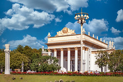 Pavilion Soviet Russia on VDNH (Moscow, 2019) (KonstEv) Tags: vdnh moscow russia ussr soviet architecture вднх москва