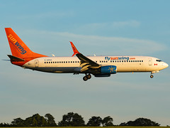 Sunwing Airlines | Boeing 737-8GS | C-GFEH (MTV Aviation Photography) Tags: sunwing airlines boeing 7378gs cgfeh sunwingairlines boeing7378gs tuiairways tui norwichairport norwich nwi egsh canon canon7d canon7dmkii
