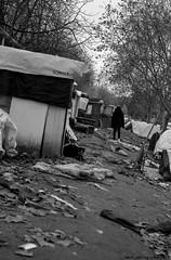 """Ghost Children Place 25"" (TBWLC Photography) Tags: fdrouet tbwlc nb bw monochrome street slum bidonville réfugiés refugees campdemigrants migrantcamp nikon d610 aubervilliers"