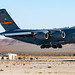 C-17 About to Land at Nellis AFB