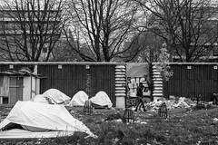 """Ghost Children Place 27"" (TBWLC Photography) Tags: fdrouet tbwlc nb bw monochrome street slum bidonville nikon d610 aubervilliers migrantcamp campdemigrants"