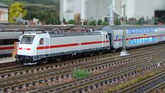 BR 146 Fleischmann & BRAWA IC2 (vollerbm) Tags: modellbahn modelleisenbahn spurn 1zu160 brawa fleischmann ic2 br146
