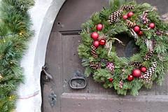 Christmas is coming ...🎅 (Augusta Onida) Tags: natale christmas porta door decorazione