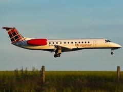 Loganair | Embraer ERJ-135ER | G-SAJB (MTV Aviation Photography) Tags: loganair embraer erj135er gsajb embraererj135er norwichairport norwich nwi egsh canon canon7d canon7dmkii